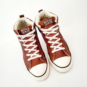 Chuck Taylor All Star Street Mid 'Pinecone""